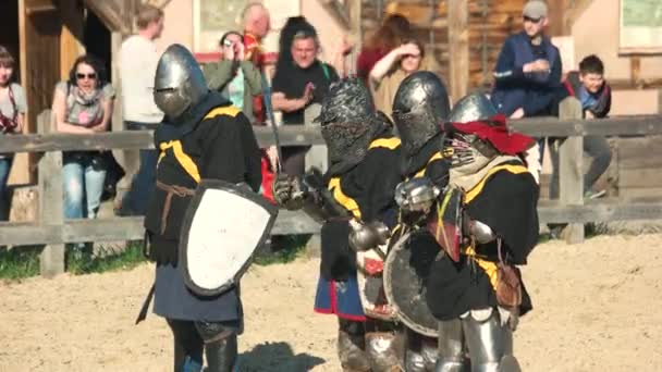 Festival of medieval history.