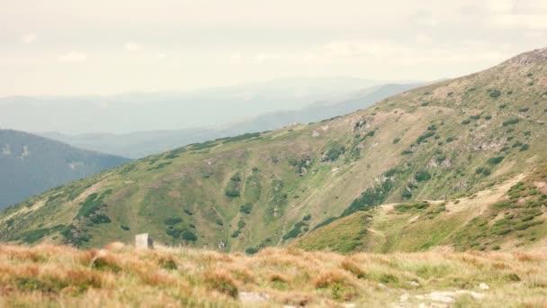 Nádherné Karpatské hory v létě.