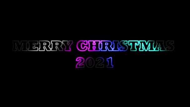 Boldog Karácsonyt és új évet Téma, 3D szöveges animációk és 3D-s hatások a szavakra vagy levelekre, valamint Multicolor terjesztése és mozgó  megvilágító fényhatások, Karácsonyi ünnepség, Karácsonyi fények