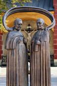 Stefan Moyzes a Karol Kuzmany, biskupové, kněží, Banská Bystrica, Slovensko