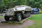 Deutsch obrněné vozidlo v Banské Bystrici, Slovensko.