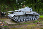 Deutsch tank v Banské Bystrici, Slovensko.