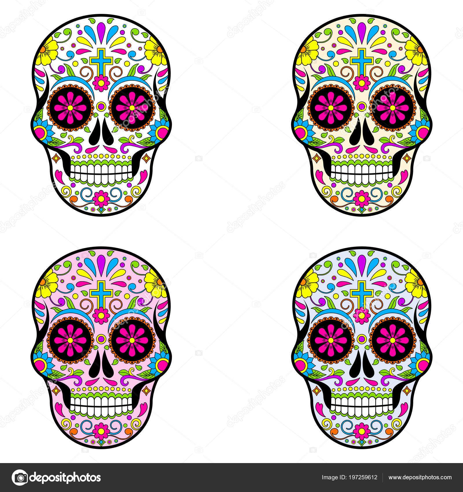 Imágenes Calacas Dia De Muertos Calaveras Azúcar Mexicana Día Los