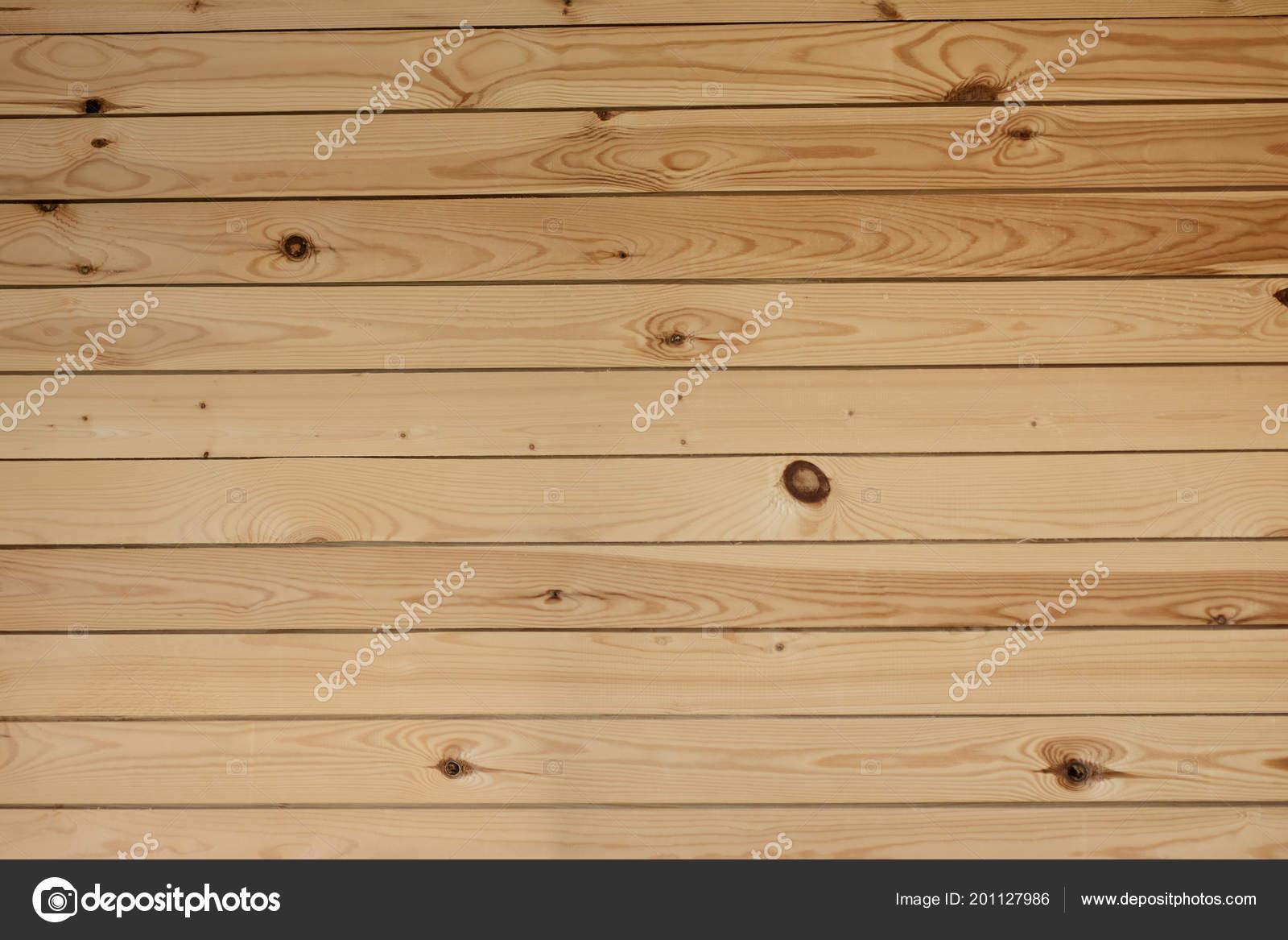 Muur Van Houten Planken.Muur Van Houten Planken Een Achtergrond Horizontaal Stockfoto
