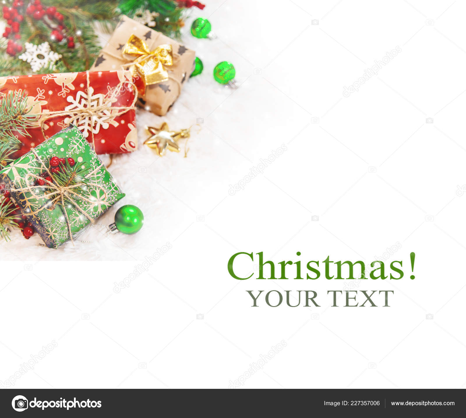 christmas background happy new year selective focus holiday stock photo