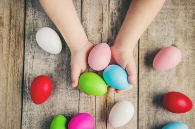 Happy Easter. Selective focus. Holidays and events food