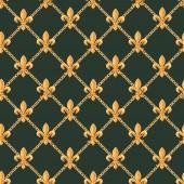 Fotografie Goldene Barock reichen Luxus Muster