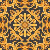 Arany barokk gazdag luxus minta