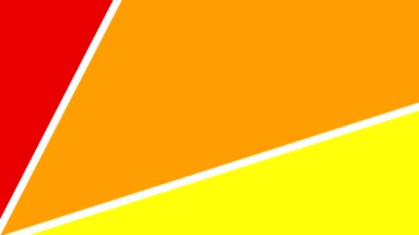 Abstraktní duhové barvy bezešvé smyčka pozitivní šťastné pozadí animace 4k