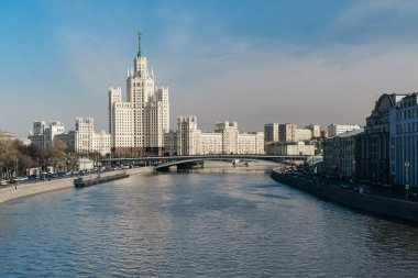 High-rise on Kotelnicheskaya embankment in Moscow