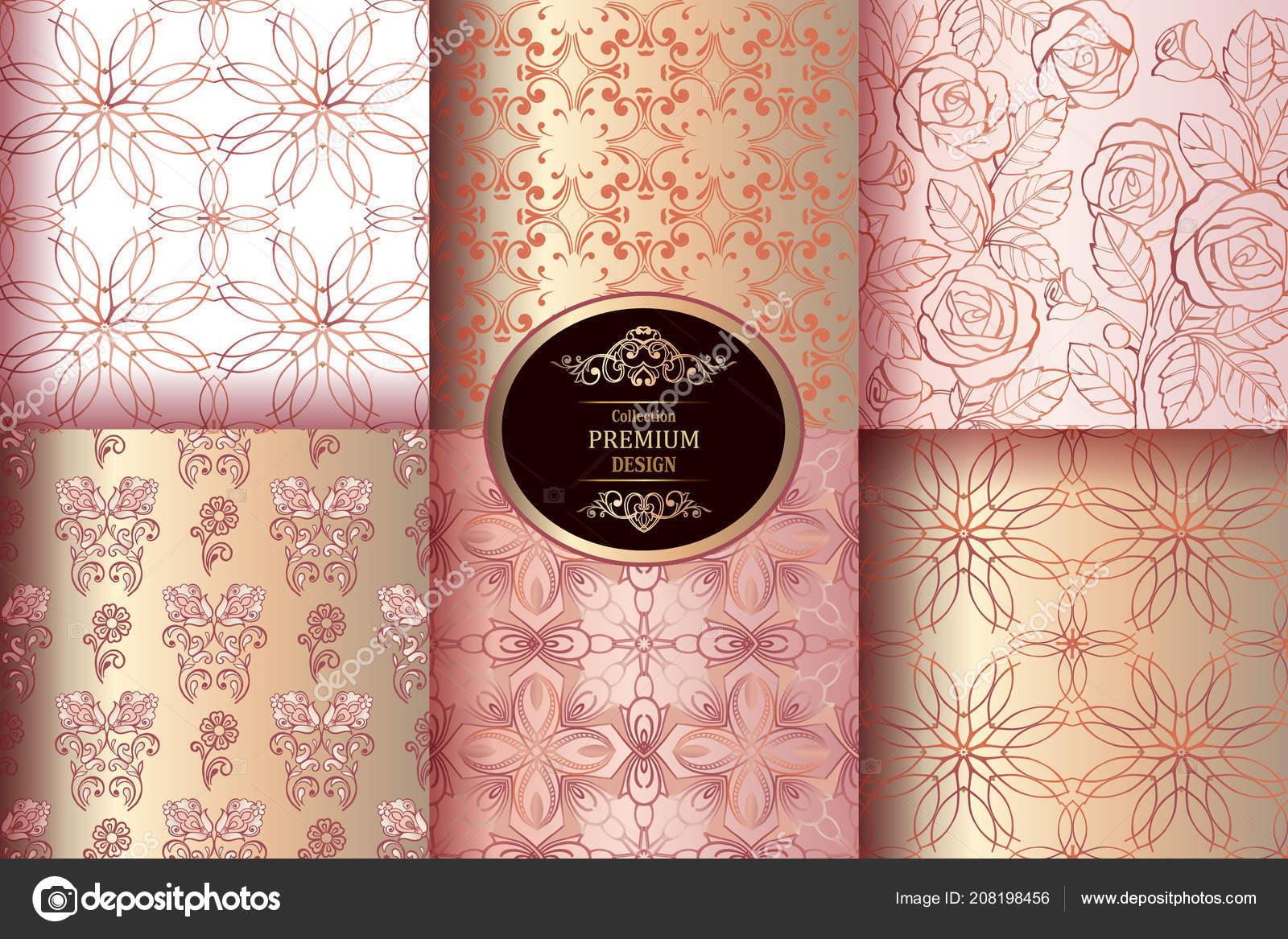 Carta Da Parati Damascata Rosa : Carta da parati carta da parati damascata elementi di design