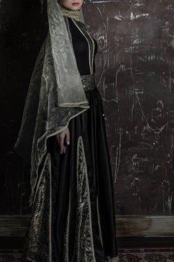 armenian woman in traditional armenian dress