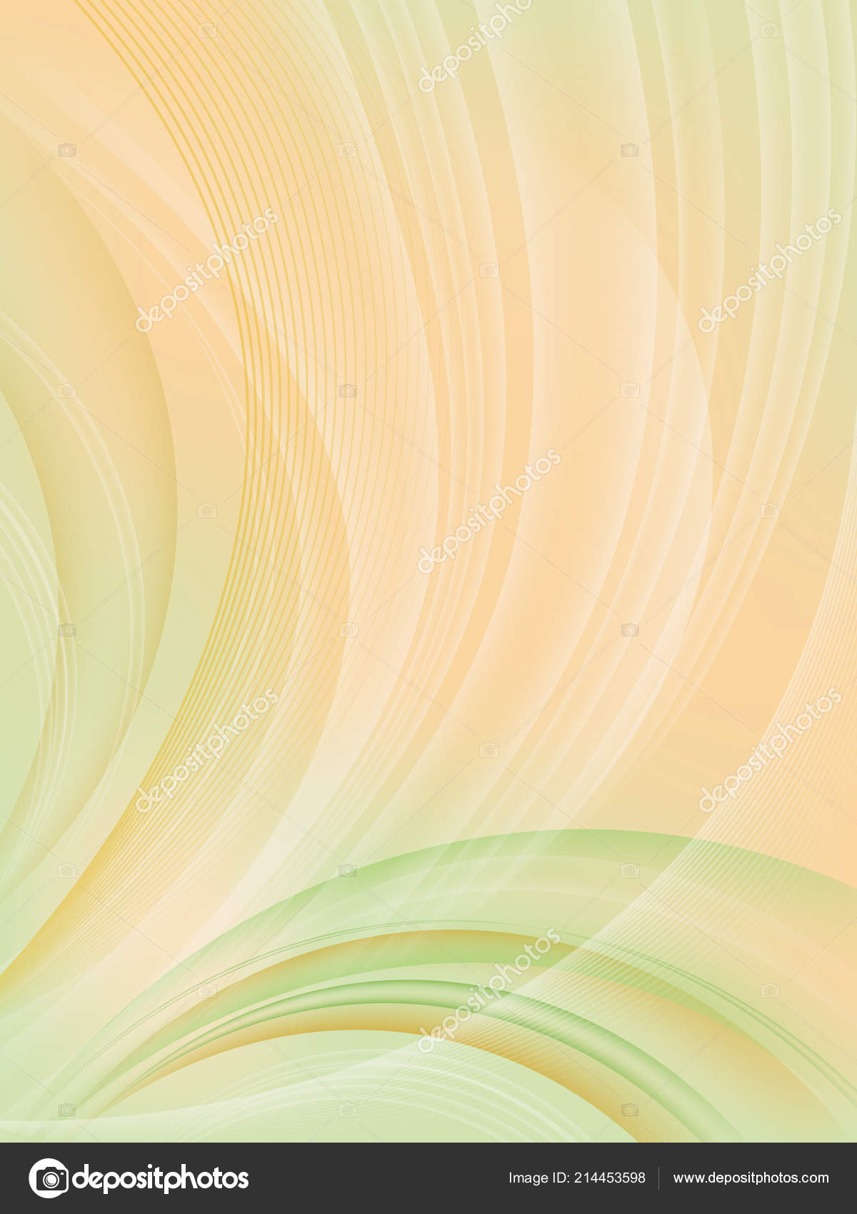Abstract Background Transparency Effects Smooth Color Waves
