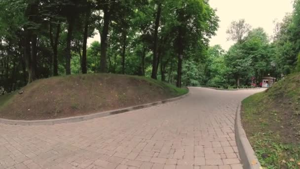 GOMEL, BELARUS. a footpath in a green park.