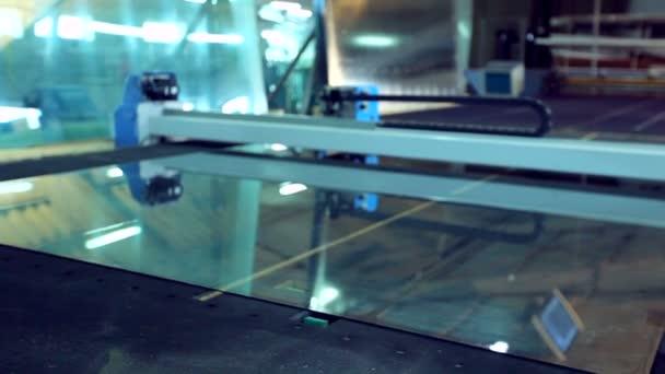 Řádek výroby plastových oken