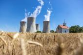 Nuclear power station Dukovany, Vysocina region, Czech republic