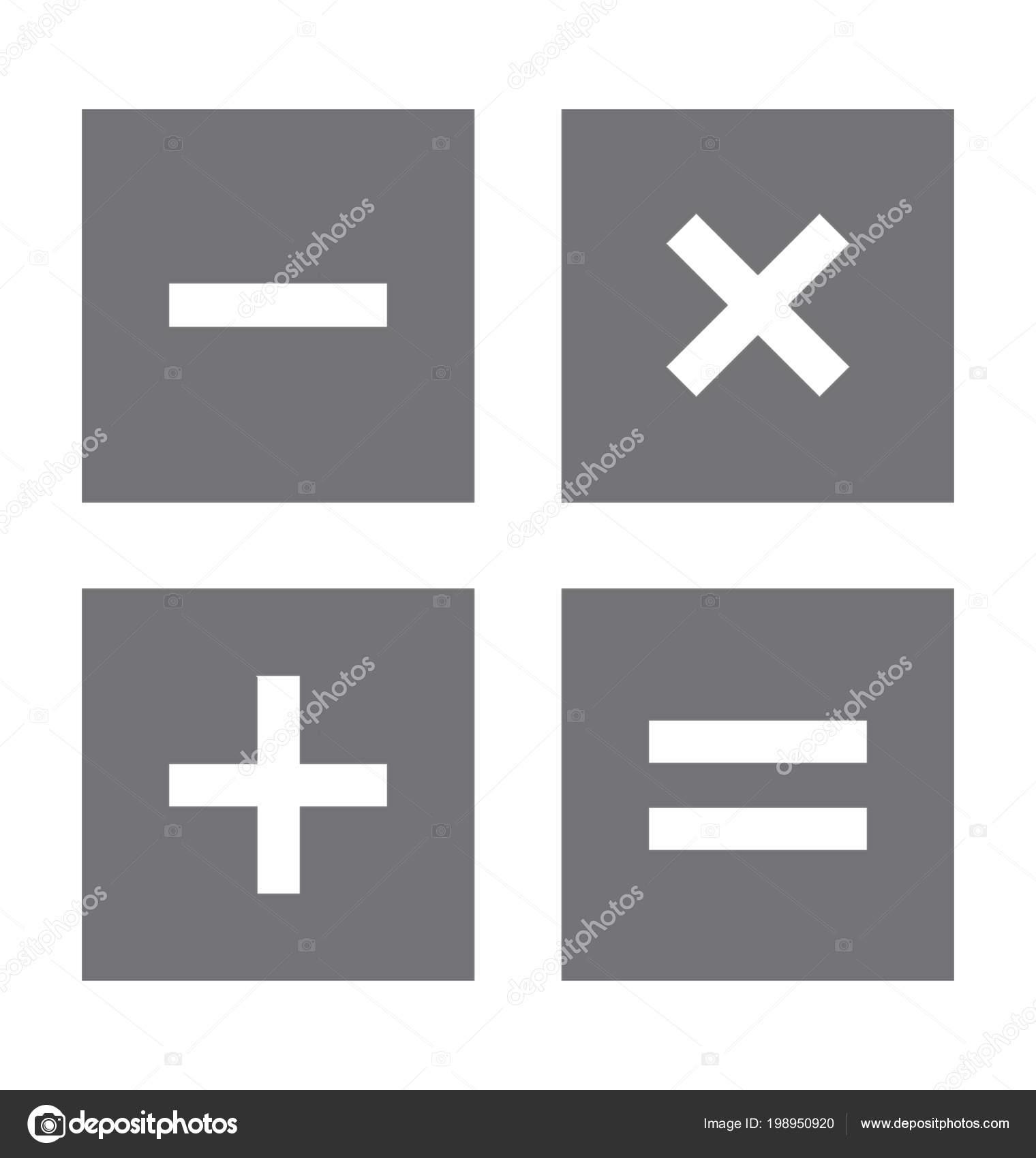Mathematical symbols flat vector icon stock vector creativestall mathematical symbols flat vector icon stock vector publicscrutiny Choice Image