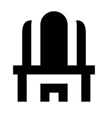 Vanity Table Flat Vector Icon
