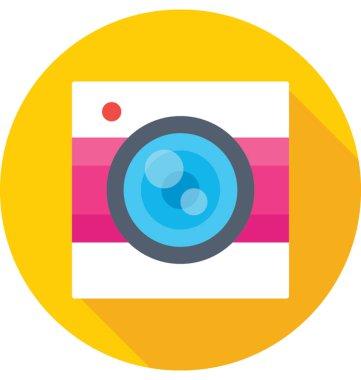 Camera Colored Vector Icon