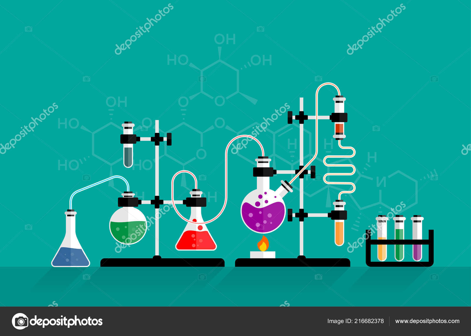 Chemistry Lab Science Equipment Chemical Experiment Glass