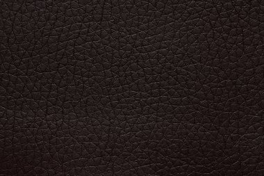 Simple leatherette texture in black tone. High resolution photo.