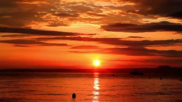 time lapse of sunrise on aegean sea, sunrise on the Aegean Sea, sunrise over the pier on the Aegean Sea, morning at the sea berth, sunrise on the Sea time-lapse