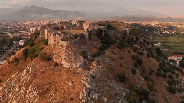 Ruins of Rozafa Castle in Shkoder