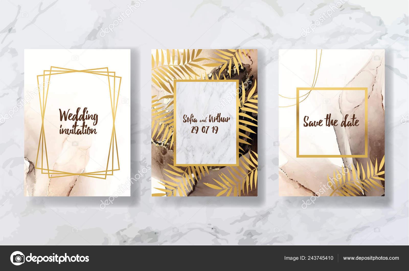Hintergrund Textur Luxus Liquid Marmor Und Gold Für