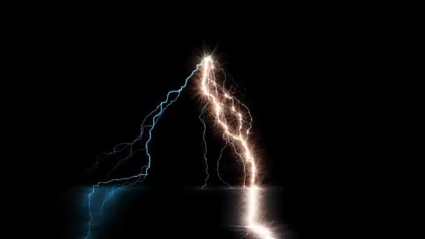 Digitální vykreslování osvětlení Strike elektrické energie Video
