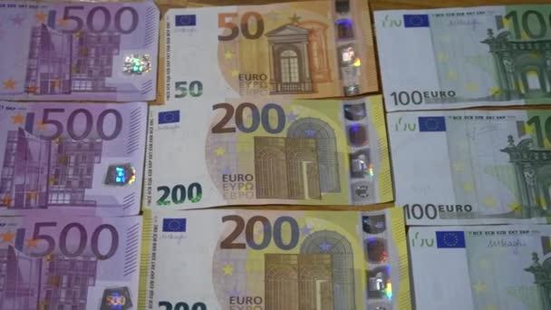 eurohotovost pozadí. Euro Money Europe Bankovky - hmatatelná politika