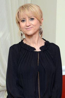 Italy - Milan January 31,2018 - Luciana Littizzetto italian actress posed