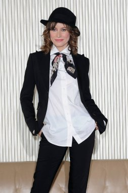 Italy - Milan february 28,2018 - Giorgia Wurth actress posed