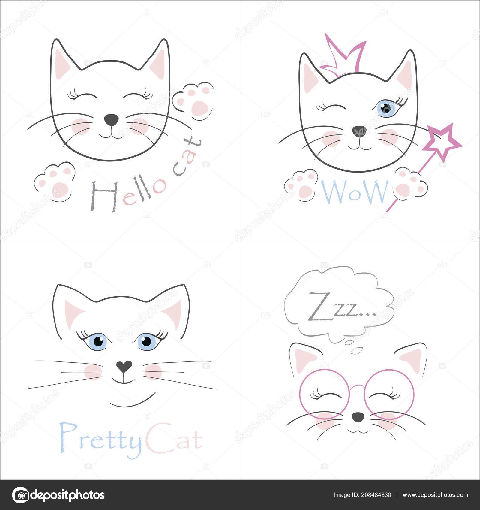 Immagini Biglietti Di Compleanno Con Gatti Da Stampare Gatti