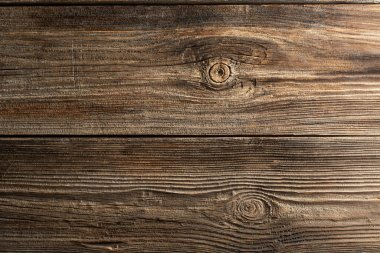 Wooden texture. Background. Top view. Copy space.