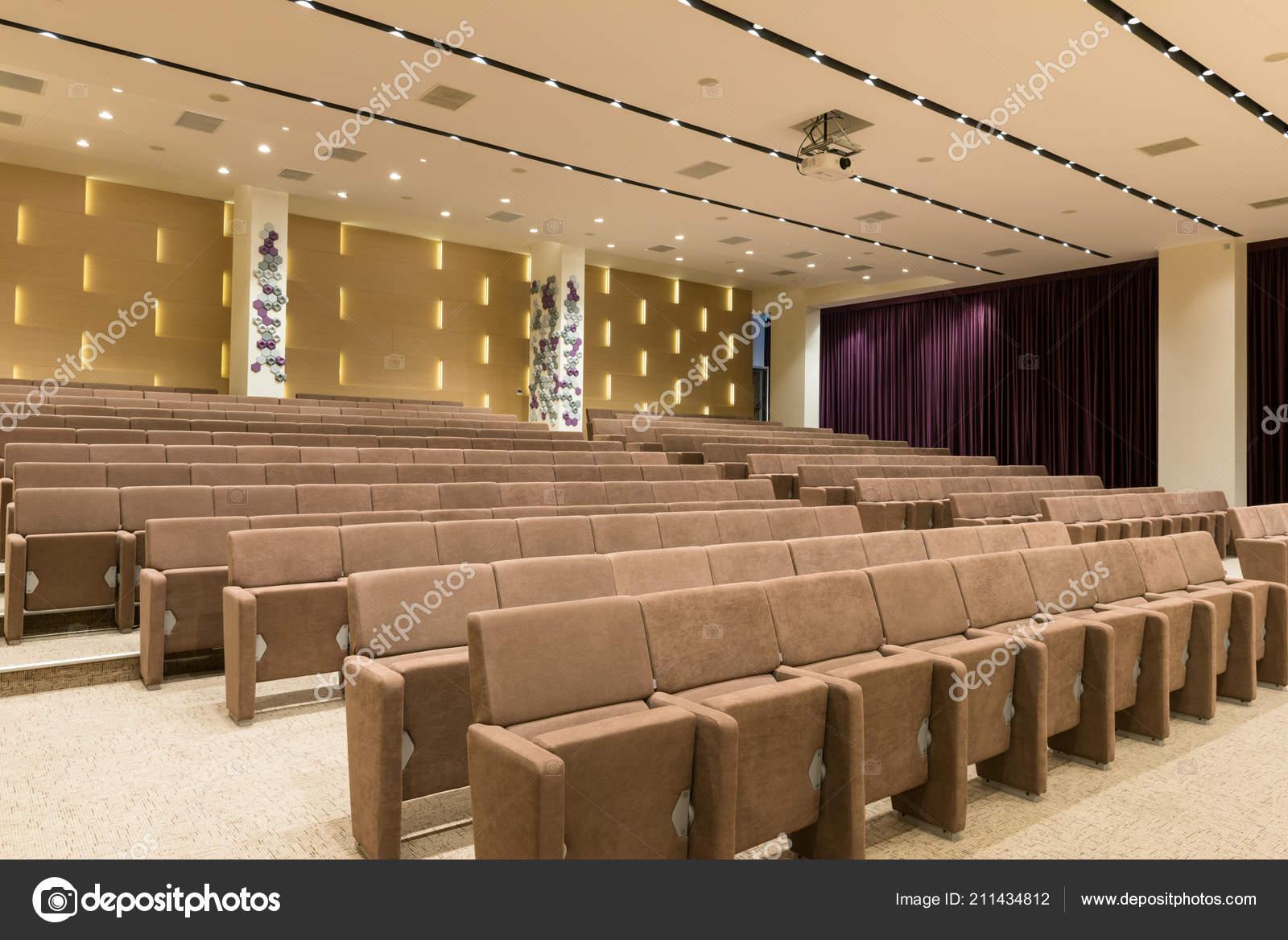 Gros Moderne Vide Salle Réunion Séminaire Conférence ...