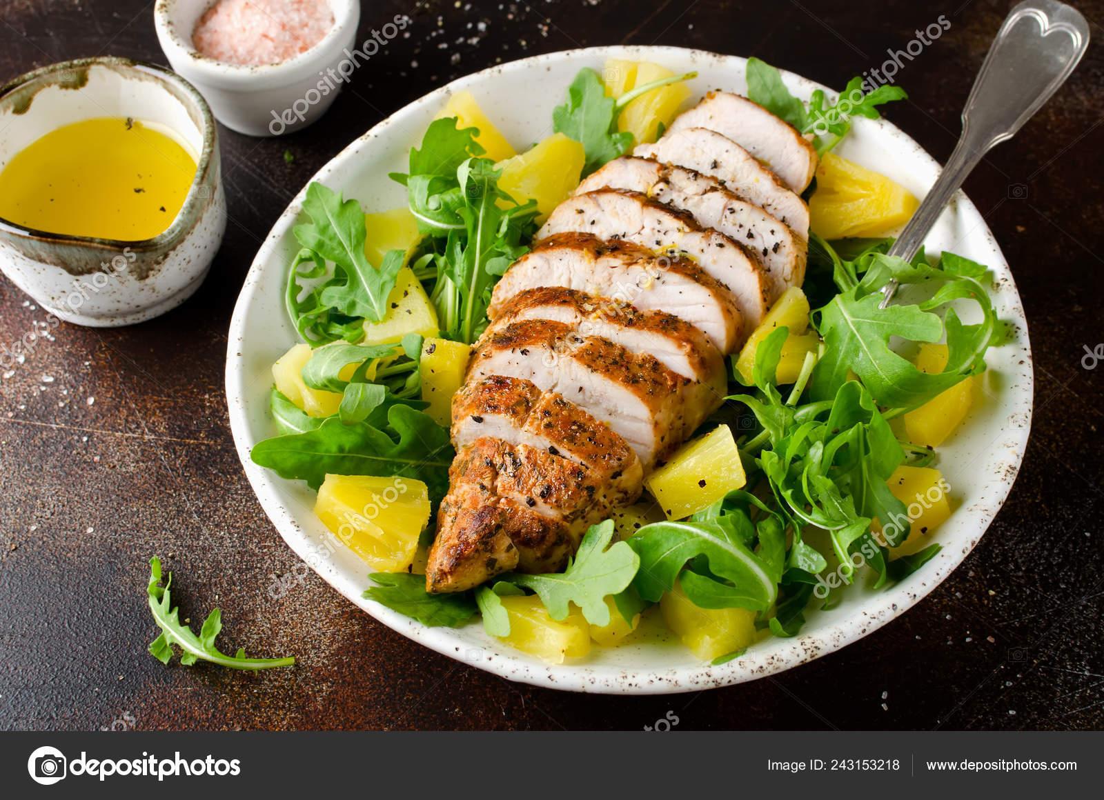 dieta di ananas e petto di pollo