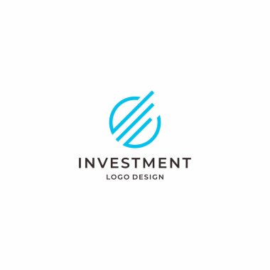 A clean, modern and professional logo about the benefits and good prospects (positive movement).Finance & investment business.EPS10 - Vector file type.