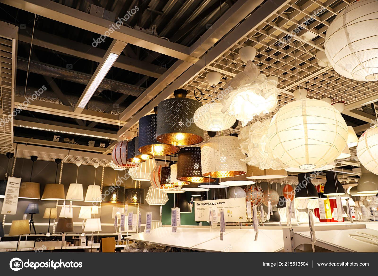 Kazan russia agosto 2018 interno del grande negozio ikea con u2014 foto