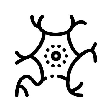 Microscopic Virus Bacterium Vector Thin Line Icon. Medical Science Unhealthy Bacterium Linear Pictogram. Microbe Type Infection Biology Microorganism Contour Monochrome Illustration icon