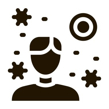 Medicine Bottle glyph icon vector. Medicine Bottle Sign. isolated symbol illustration icon