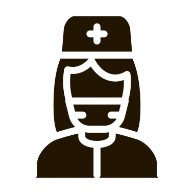 Healthcare Spray glyph icon vector. Healthcare Spray Sign. isolated symbol illustration icon