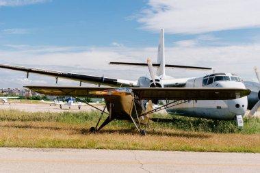 Piper L-14 Army Cruiser aircraft during air show