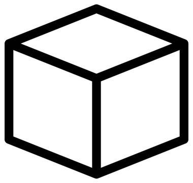 Gift box vector icon on white background icon