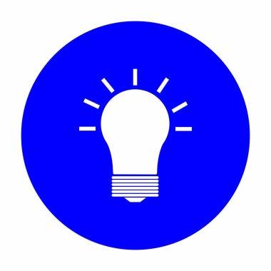 Lamp logo stock illustration design icon