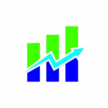 Finance logo stock illustration design icon