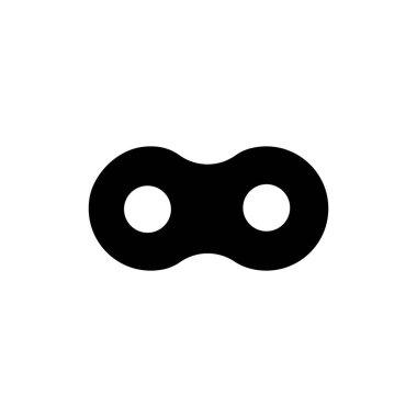 Chain logo stock illustration design icon