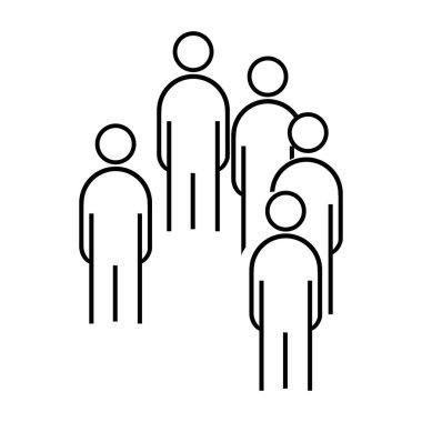 People team logo vektor template icon