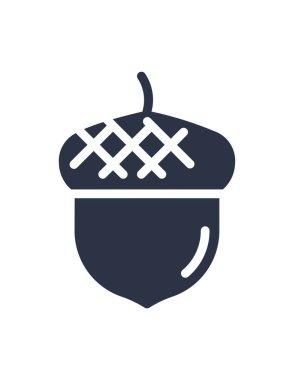 Acorn icon . vector illustration icon
