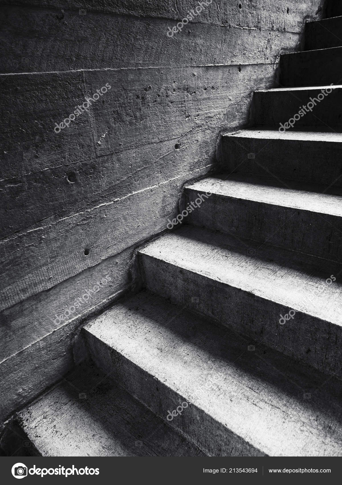 Escalier Ciment Mur Escalier Étape Architecture Détails Abstrait U2014 Photo