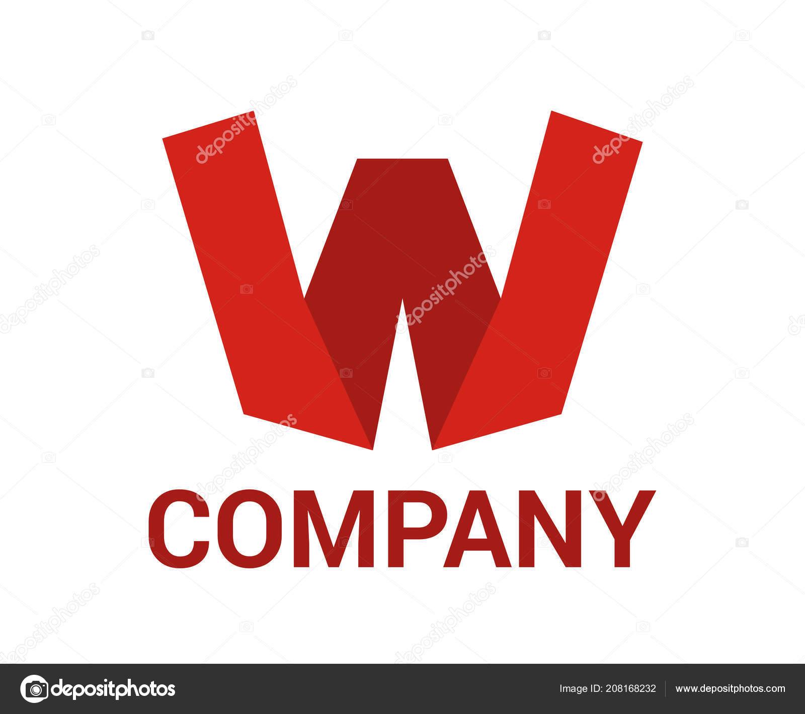 Logo Symbol Type Letter Logo Design Idea Illustration Paper Shape ...
